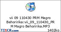 vii 09 110430 PRM Magro Behoririka